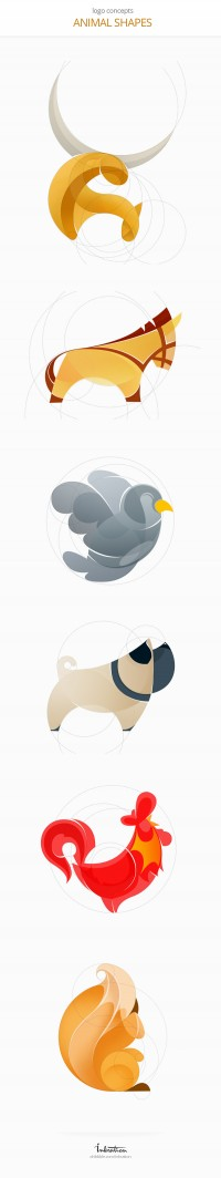 Animal Logos by Ink Ration | Inspiration DE