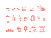 DBX Icons Illustrations by Ryan Putnam