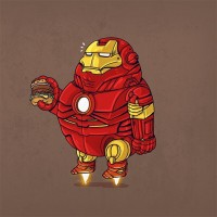 Cute and Chunky Famous Pop Culture Characters by Alex Solis