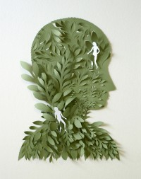 Cut Paper Sculptures and Illustrations by Elsa Mora — Designspiration