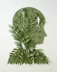 Cut Paper Sculptures and Illustrations by Elsa Mora — Designspiration
