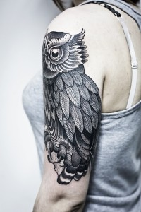 owl tattoo — Designspiration
