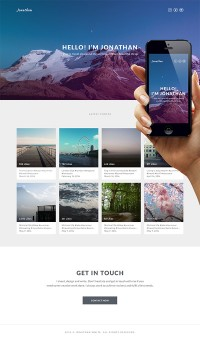 Designing a Simple Instagram Based Portfolio in Photoshop - Tuts Web Design Tutorial