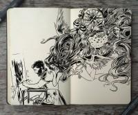 #177 Muse by 365-DaysOfDoodles | Inspiration DE