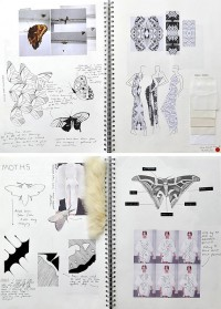 Textiles and Fashion Design Sketchbooks - 20 Inspirational Examples | Student Art Guide