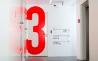 Interiors / Signage and Wayfinding for Innovation Center on Behance