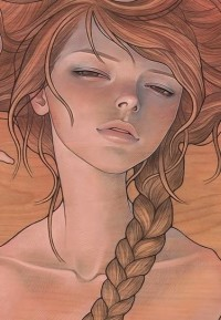 """She Entwined"" Art Print by Audrey Kawasaki 