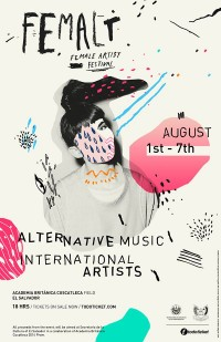 Femalt /// Female Artist Festival by Dough Rodas | Inspiration DE