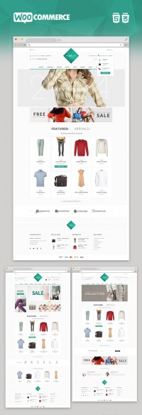 Modello- Responsive eCommerce WordPress Theme | Inspiration DE