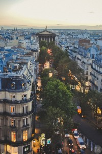Dusk, Paris, France | The Best Travel Photos | Inspiration DE