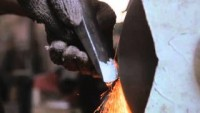 The Birth Of A Tool Part 1 Axe Making by John Neeman - YouTube