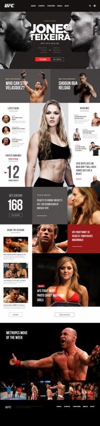 UFC REDESIGN Concept | Inspiration DE