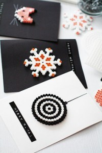 Grußkarten aus Hama-Perlen-amicella