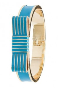 Cerulean Blue Bow Bracelet by Olivia Taylor Fashion Boutique | Olivia Taylor
