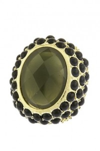 Deep Olive Cocktail Ring by Olivia Taylor Fashion Boutique | Olivia Taylor