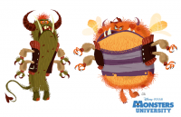 Monsters University Concept Artwork by Chris Sasaki