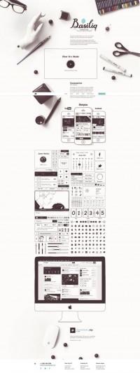 LOW SATURATION HALF-PAINTED STYLE WEB DESIGN   Inspiration DE