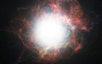 Como uma supernova produz poeira cósmica