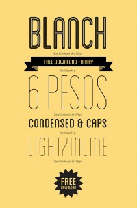 Blanch | Font | Free Download