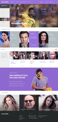 Conversa.Globo on Web Design Served | Inspiration DE