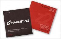 » [45] Cartes de visites creatives » WowoDesign Bookmarks