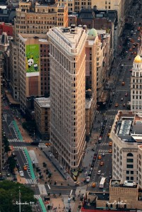 New York City Flatiron Building aerial view in Manhattan | Inspiration DE