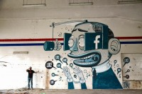 The Facebook Like Obsession Told Through Murals | Inspiration DE