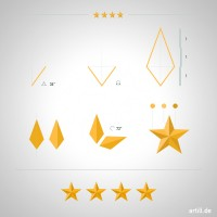 Illustrator Tip: How to Make a Beveled Star | artill blog | Inspiration DE
