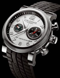Graham Mercedes GP Trackmaster & Silverstone Chronograph Watches | aBlogtoWatch