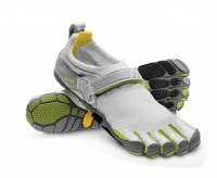 5 fingers bikila light green/grey barefoot shoes