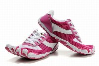 5 fingers speed pink and white barefoot running men shoes