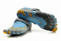 5 fingers bikila blue yellow grey barefoot shoes