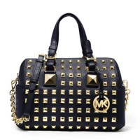 MICHAEL Michael Kors Bags Medium Grayson Studded Satchel