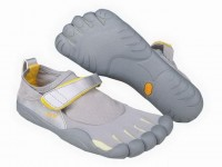 5 fingers kso grey/white barefoot footwear for male