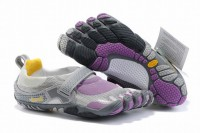 discount 5 fingers bikila white and purple barefoot shoes for female