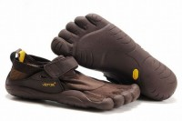 5 fingers kso black/brown running footwear for male