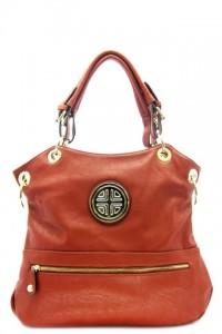 Orange Tote Bag by Olivia Taylor Fashion Boutique   Olivia Taylor