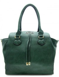 Hunter Green Tote Bag by Olivia Taylor Fashion Boutique | Olivia Taylor