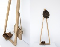 Pendura Coat Stand: A New Triple Edge Takes Form — KNSTRCT - Carefully Curated Design News