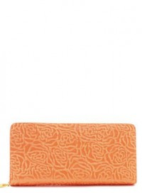 Coral Embossed Wallet by Olivia Taylor Fashion Boutique | Olivia Taylor