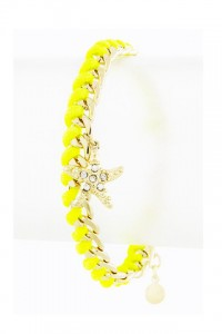 Neon Yellow Bracelet | Olivia Taylor