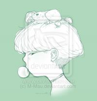 frog kid by M-Mau