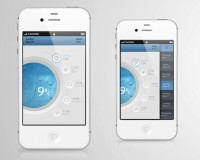 25 Mobile App Designs Featuring Grapch and Charts   Inspiration