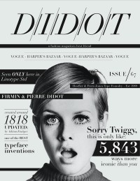 didot fashion mag icon — Designspiration