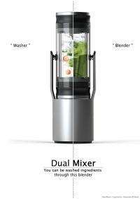 Dual Mixer _ Blender Design on