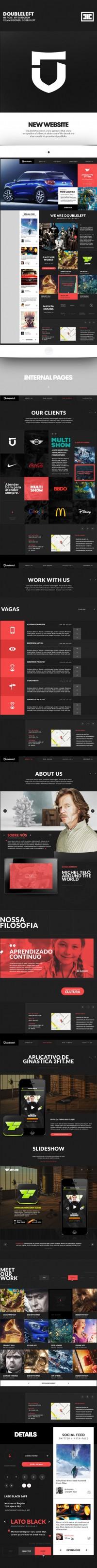 Doubleleft Website on