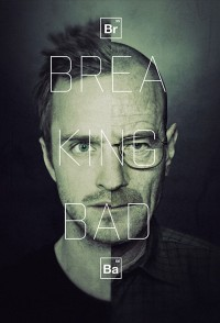 Breaking Bad split face poster | Murray Mitchell