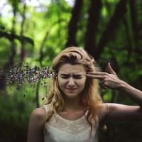 Powerful and Surreal Self Portraits by 20-Year-Old Rachel Baran | Bored Panda