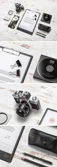 Branding / Identity MockUp Vol.10 - FreebiesXpress