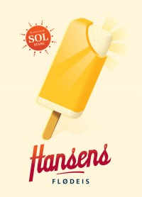 Vector ilustration / Hansen\\\'s Ice Cream